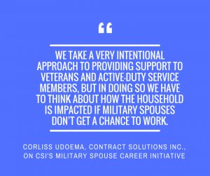 CSI Military Career Spouse Initiative