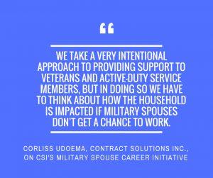 CSI Military Career Spouse Initiative