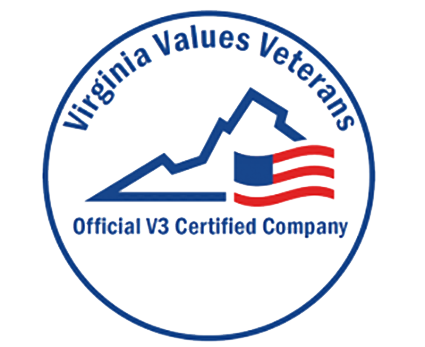 V3 Virginia Values Veterans Certified Company